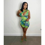 Tropical mind dress